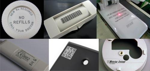 Khắc Laser Trên Các Vật Liệu Bằng Nhựa